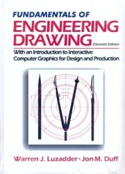 تصویر  FUNDAMENTALS OF ENGINEERING DRAWING