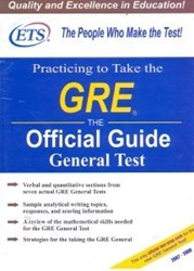 تصویر  PRACTICING TO TAKE THE GRE THE OFFICIAL GUIDE GENERAL TEST