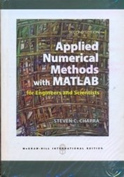 تصویر  applide numerical methods with matlab for engineers and scientists