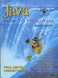 تصویر  Java:how to program 8EDITION