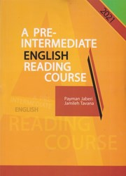 تصویر  A pre - intermediate english reading course