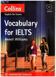 تصویر  collins vocabulary for ielts+cd
