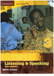تصویر  real listening& speaking (3)+cd