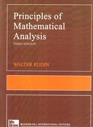 تصویر  principles of mathematical analysis