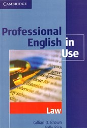 تصویر  professional english in use: law