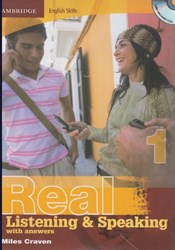تصویر  real listening& speaking (1)+cd