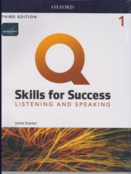 تصویر  q:skills 1 listening & speaking 3nd +dvd