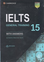 تصویر  CAMBRIDGE  IELTS 15 general+ cd