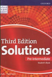 تصویر  solutions (pre-inter) st (3rd) +cd + workbook