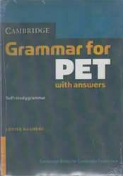 تصویر  grammar for pet, with answers
