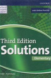تصویر  solutions (elementary) st (3rd) +cd + workbook