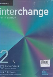 تصویر  interchance (5 edition) 2st+workbook