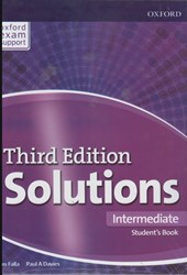 تصویر  solutions (intermediate) st (3rd) +cd + workbook