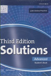 تصویر  solutions (advanced) st (3rd) +cd + workbook