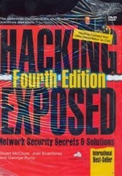تصویر  HACKING EXPOSED:NETWORK SECURITY SECRETS & SOLUTIONS FOURTH EDITION