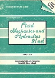 تصویر  FLuid mechanics and hydraulics 21 ed