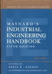تصویر  MAYNARD S INDUSTRIAL ENGINEERING HANDBOOK 1